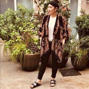 Other - Velvet kimono